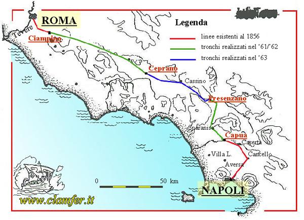 Cartina Stazioni Ferroviarie Roma.Trenino Alifana