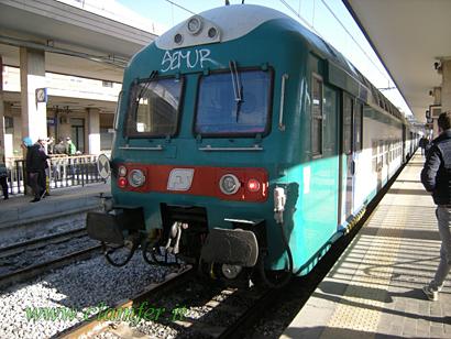 Giro campania in treno for Piani a una storia con piano seminterrato